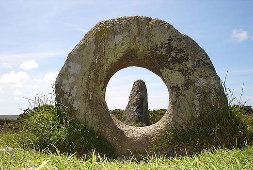 Fertility - Men-an-Tol Standing Stones  by Elena Schaelike