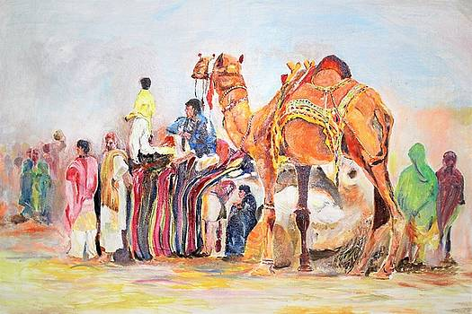 Festival activity by Khalid Saeed