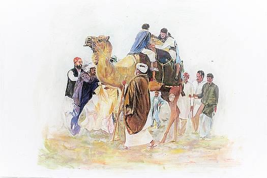 Festivals enjoyment. by Khalid Saeed