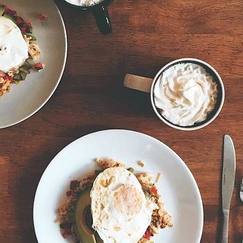 Festive Breakfast Attempt Número Uno: by Cydney Waitley