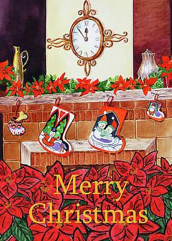 Irina Sztukowski - Festive Merry Christmas Card