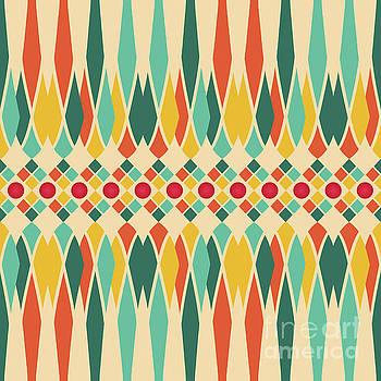Festive pattern by Gaspar Avila