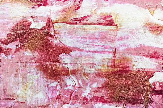 Andrea Anderegg -  Festive Season 3    #holidays #Christmas #painting #gold #abstract
