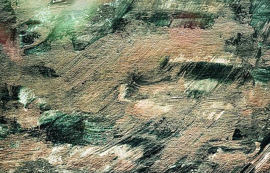 Andrea Anderegg -  Festive Season 4     #holidays #Christmas #painting #gold #abstract