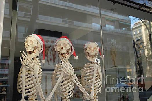 Festive Skeletons by C Lythgo