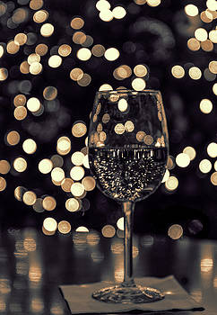 Festive White Wine by Steven Sparks