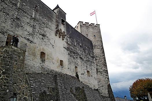 Robert Meyers-Lussier - Festung Hohensalzburg Study 10