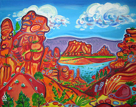Fey Canyon Viewpoint by Rachel Houseman
