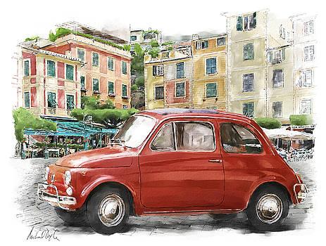 Fiat 500 classico by Michael Doyle