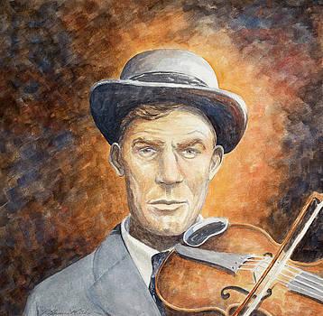 Fiddler Gid Tanner by Paula Blasius McHugh