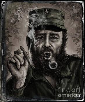 Fidel Castro by Andre Koekemoer