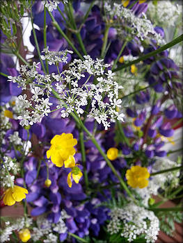Field flowers by Tiina M Niskanen