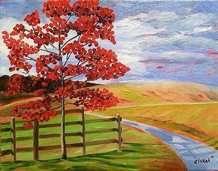 Field Landscape by Rivkah Singh