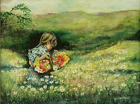 Field of Daisies by Don Whitson