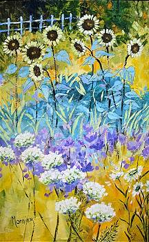 Field of flowers by Cathy MONNIER