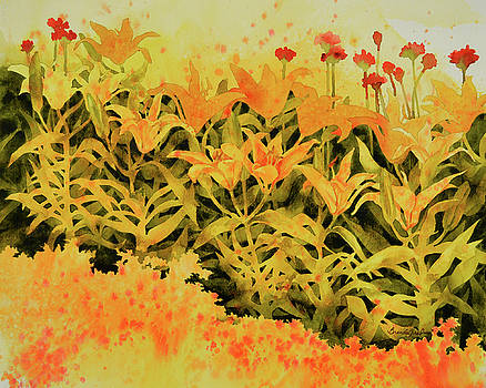 Field of Lilies  by Brenda Jiral
