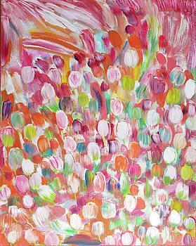 Field of Tulips by Dianke Daffe-Rachow