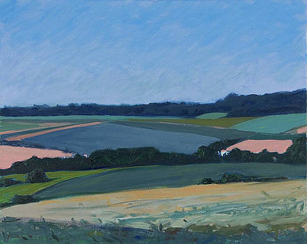 Fields near Cognac May by Roy Perkinson