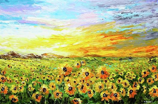 Fields of Gold by Kevin Brown