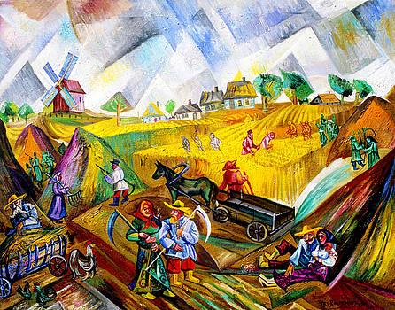 Ari Roussimoff - Fields Of Ukraine