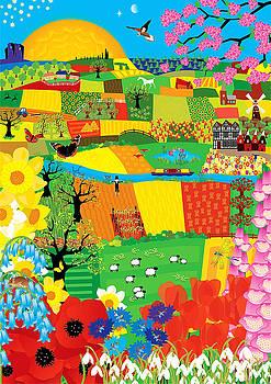 Fields Patchwork by Neil Finnemore