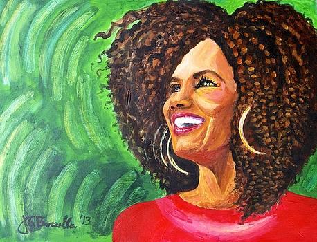 FierceWomen Portrait of Kimberly by JG Boccella