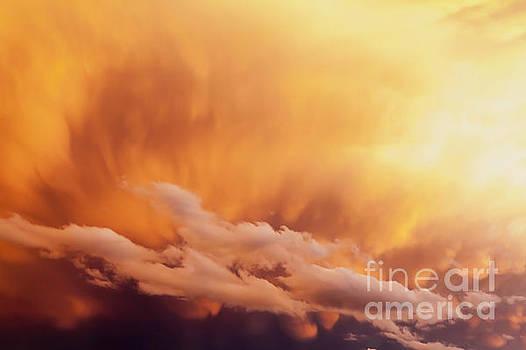 Fiery Cloudscape by Sharon Foelz