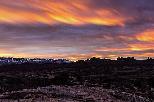 Fiery Furnace Sunrise by James Marvin Phelps