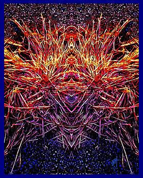 Fiery Grass Crown  by Inga Vereshchagina