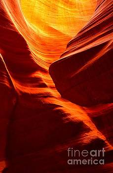 Adam Jewell - Fiery Sandstone Abstract