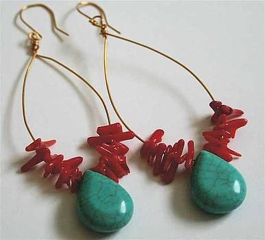 Fiesta Earrings by Laura Knight