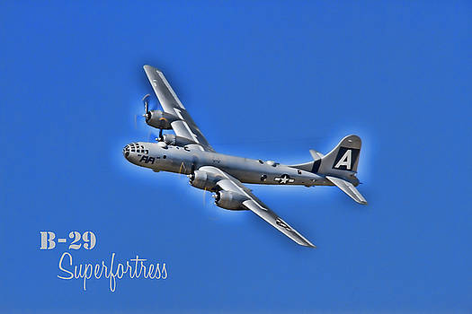 FiFi B29 Superfortress by Debby Richards