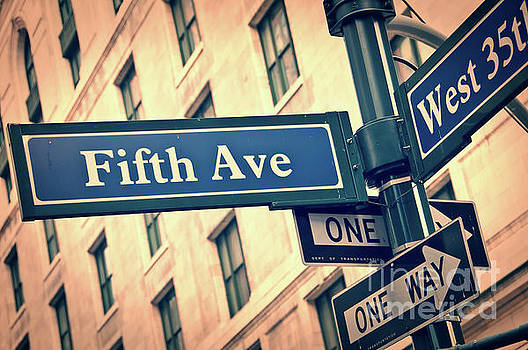 Delphimages Photo Creations - Fifth avenue