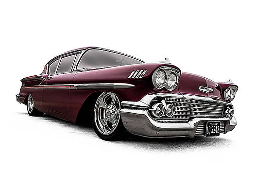 Fifty-Eight Impala by Douglas Pittman