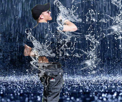 Fighting The Rain by M Montoya Alicea