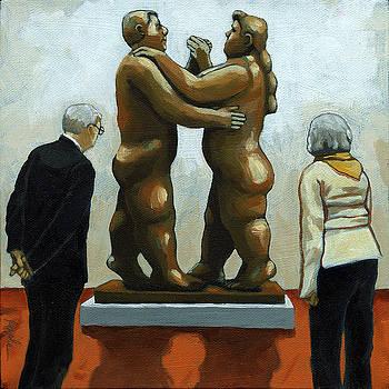 Figurative art - Bottero sculpture by Linda Apple