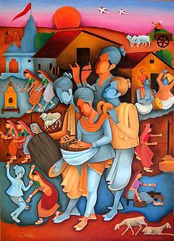 Figurative by Chotalal Bhatti