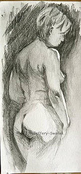 Figure drawing.2. by SJV Jeffery-Swailes