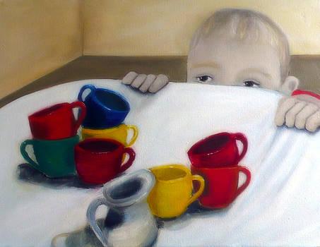Figure Painting Boy by Katy Hawk