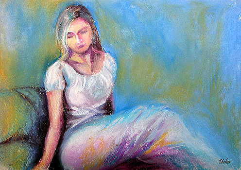 Figure painting by Usha P