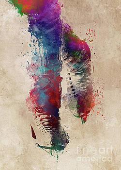 Figure Skating Art by Justyna JBJart