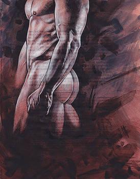 Figure Study 117 by Rudy Nagel