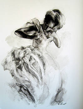 Figure study 5 by Stuart Gilbert
