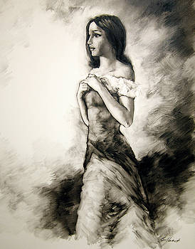 Figure study 9 by Stuart Gilbert