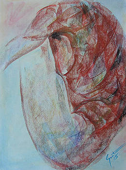 Figure study by Carvil Gunter