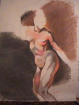 Figure Study by Kerry Burch