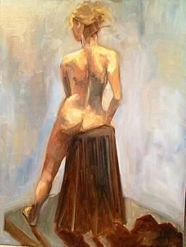 Figure Study of a Woman by Cynthia Mozingo