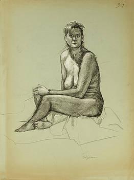 Figure Study Sketch by Erik Schutzman