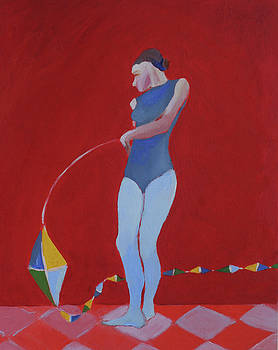 Victoria Sheridan - Figure with kite