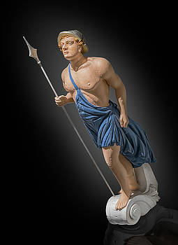 figurehead of  Apollo by Gary Warnimont